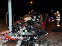 16 yaşındaki ehliyetsiz sürücü kaza yaptı: 1 ölü, 1 ağır yaralı