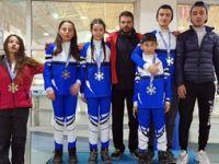 Çankırı, kızakta Türkiye Şampiyonu