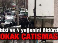 Erzurum'da sokak ortasında kavga! 5 ölü