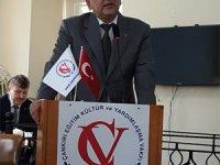 Çankırı Vakfı Başkanı Mustafa Can'dan yeni yıl mesajı