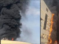 Taksim İlk Yardım'da yangın çıktı