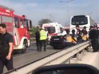 Kartal E-5 Karayolu'nda feci kaza! 4 kişi hayatını kaybetti
