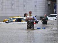 Başkent Ankara şiddetli yağış sonrası sele teslim oldu