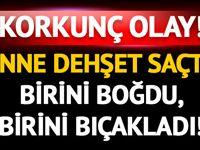 Ankara Keçiören'de dehşet! Anne çocuklarını öldürdü