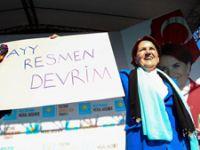 Meral Akşener Çankırı'da partisinin mitingine katıldı