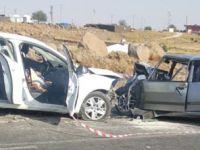 Viranşehir'de iki otomobil çarpıştı: 3 ölü, 2 yaralı
