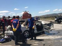 Sivas'ta feci kaza: 5 ölü, 5 yaralı