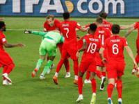 Kolombiya evine, İngiltere çeyrek finale!