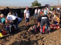 Tekirdağ'da tren devrildi! Hayatını kaybedenlerin sayısı 24'e yükseldi