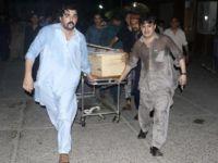 Pakistan'da mitinge bombalı saldırı gerçekleştirildi 12 kişi öldü