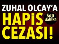 Zuhal Olcay'a hapis cezası