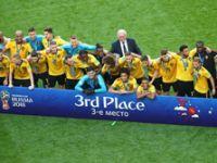 'Altın Jenerasyon'dan tarihi başarı! Belçika Dünya 3'üncüsü