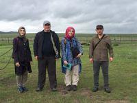 Çankırılı üniversite öğrencileri Orta Asya bozkırlarında