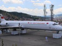 Yolcu uçağı Kastamonu'da 'millet kıraathanesi'ne dönüştü