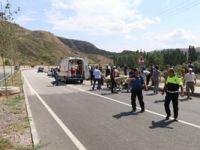 Çankırı'da feci kaza: 1 polis şehit, 1 polis yaralı