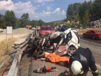 Antalya'da feci kaza: 2 ölü, çok sayıda yaralı