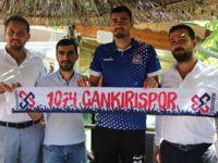 1074 Çankırıspor'a Azeri golcü