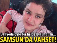 Samsun'da bir kadın evinde ölü bulundu!