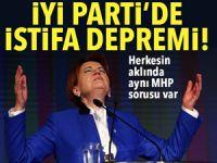 Son dakika… İYİ Parti'de şok istifalar!