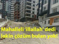 Çankırı'da vatandaşın derdine çözüm mercii yok!