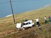Ankara'da otomobil takla attı: 2 ölü, 1 yaralı