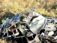Sungurlu'da bayram sabahı feci kaza: 2 ölü, 6 yaralı