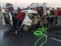Giresun'da feci kaza: 2 ölü, 12 yaralı