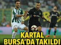 Bursaspor: 1 - Beşiktaş: 1