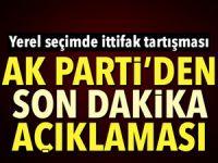 AKP'den yerel seçimler için kritik açıklama!