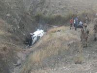 Siirt'te gelin aracı kaza yaptı: Damat öldü, gelin ağır yaralı