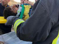 Çankırı'da okul inşaatında toprak kayması: Bir yaralı