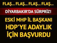MHP'li eski il başkanı HDP'den aday adayı oldu