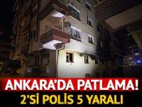 Ankara'da patlama! Çok sayıda ekip bölgede
