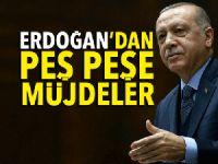 Cumhurbaşkanı Erdoğan'dan seçim öncesi müjdeler!