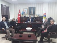 CHP'li aday İbişoğlu'ndan Hüseyin Boz'a ziyaret