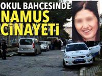 İzmir'de, okul bahçesinde namus cinayeti