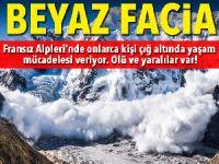 Fransız Alpleri'nde çığ felaketi: 1 ölü, 2 yaralı