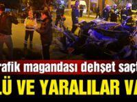 Adana'da trafik magandası dehşet saçtı! 2 ölü, 3 yaralı