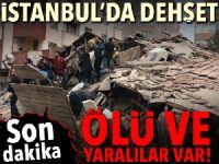 Son dakika… İstanbul Kartal'da 8 katlı bina çöktü