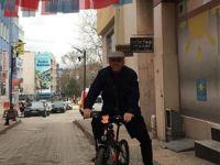 Raif Oktay: Makam aracım bisiklet ya da motosiklet! Dahası olmayacak!