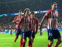 Atletico Madrid: 2 - Juventus: 0
