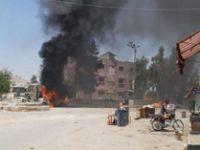 Afrin'de bomba yüklü araçla terör saldırısı: 1 ölü, 7 yaralı