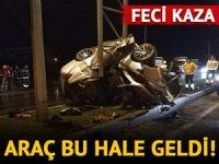 Muğla'da feci kaza! Bir kişi ağır yaralandı