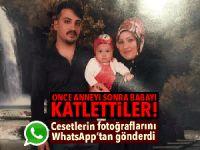 Çorum'da genç çifti öldürüp ceset fotoğraflarını aileye göndermişler!