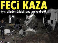 Kırşehir-Kırıkkale yolunda feci kaza: Ölüler ve yaralılar var
