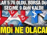 Türk Lirası dolar karşısında bu hafta yüzde 5.7 değer kaybetti