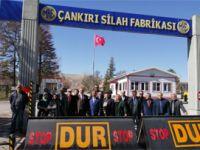 İYİ Parti'nin belediye başkan adayı 'Baba Raif'i MKE Top Fabrikası'na sokmadılar!
