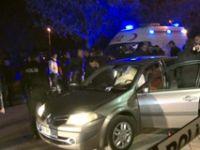 Ankara'da kadın polis nişanlısını silahla vurduktan sonra...