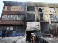 Ankara'da yangın faciası: Beş kişi can verdi!