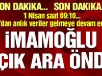 DHA'dan son dakika İstanbul seçim sonuçları açıklaması: YSK'nin verilerine göre İmamoğlu önde gidiyor